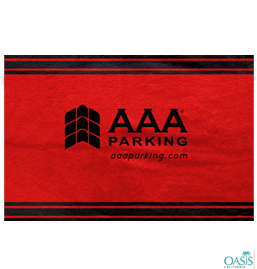 AAA Blood Red Soft Towels