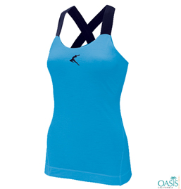 Classy Blue Promotional Top