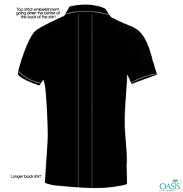 Black Half Sleeve T Shirt