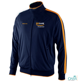 IDB Bank Ink Blue And Orange Jacket