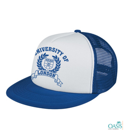White And Blue Baseball Cap
