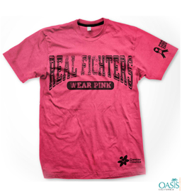 Pink Real Fighters Tees