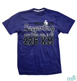 Royal Blue Ironman Tee