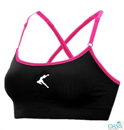 Slinky Black Sports Bra