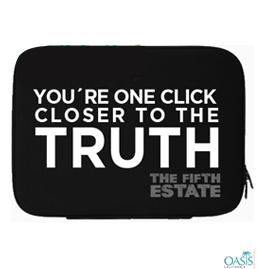 Smart Fifth Estate Black Laptop Case