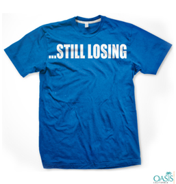 Still Losing Blue T Shirt for Weight Watchers