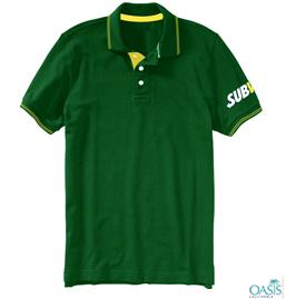 Evergreen Bold Collard T Shirt