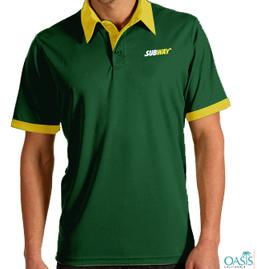 Green Yellow Half Sleeve T shirt