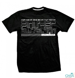 The Solid Black Ironman Tee