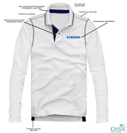 White Full Sleeve T Shirt