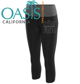 Biggest Loser Black Capri for Women