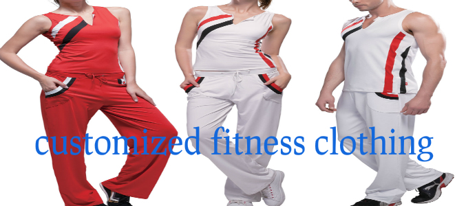 Customized Fitness Clothing Suppliers