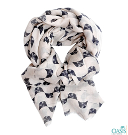 Cute Black Cat Scarf