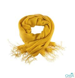 Cozy Chrome Yellow Scarf