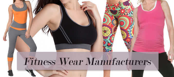 Fitness Wear Manufacturers