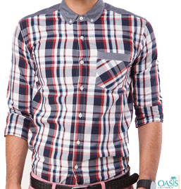 Mens Designer Check Shirts