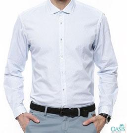 Mens White Casual Shirts