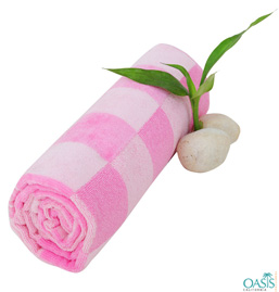 Soft Pink Towels Manufacturer