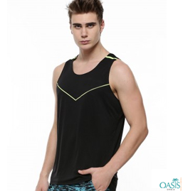 Black Fitted Vest Manufacturer