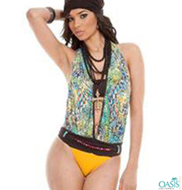 Halter Neck Swimwear