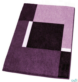 Purple Bathroom Mat