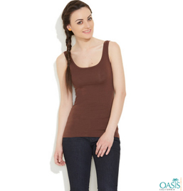 Brown Vest For Women