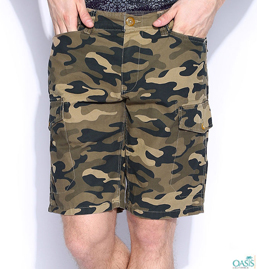 Quirky Khaki Mens Shorts