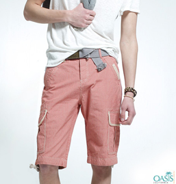 Mens Peach Shorts