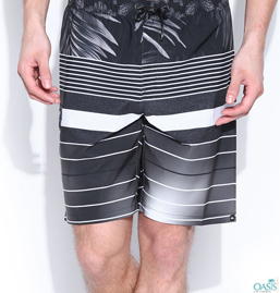 Black Beach Shorts