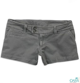 Grey Shorts For Women