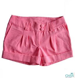 Pink Petite Womens Pants