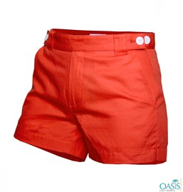 Red Shorts For Women