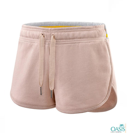 Light Peach Womens Shorts