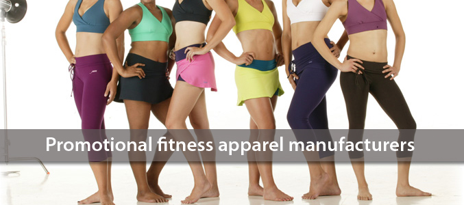 Promotional Fitness Apparel Wholesale Distributors