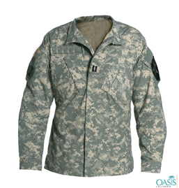 Camouflage Full Sleeve Uniform Shirt Manufacturer