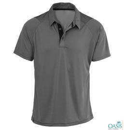 Gray Polo Shirts Supplier