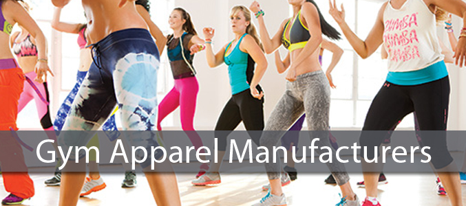Wholesale Gym Apparel Manufacturers