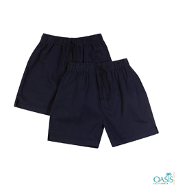 Navy Blue School Shorts Manufacturer
