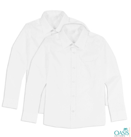 White Long Sleeve Shirt Supplier