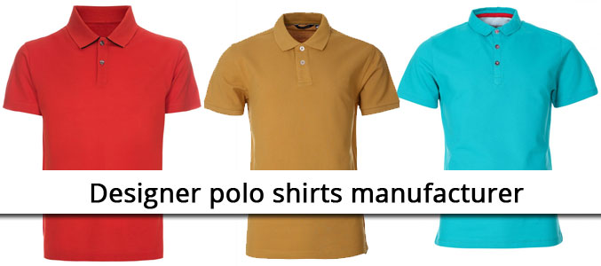 Designer Polo Shirts Manufacturers