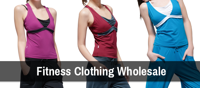 Wholesale Fitness Clothing Supplier