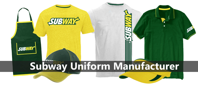 Wholesale Subway Uniform Manufacturer
