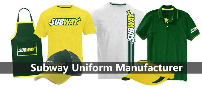 Wholesale Subway Uniform Manufacturer