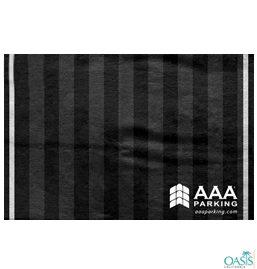 AAA Black And Dark Grey Towels