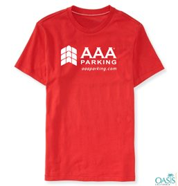 AAA Holiday Round Neck Red