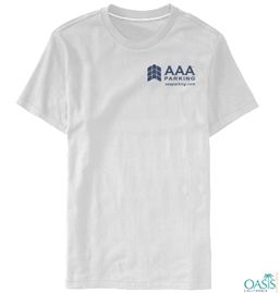 AAA Holiday Round Neck White