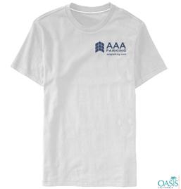 AAA Holiday Round Neck White