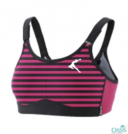 Attractive Pink Sports Bra