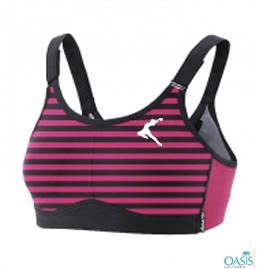 Attractive Pink Sports Bra