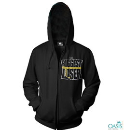 Biggest Loser Stark Smart Black Hoodie